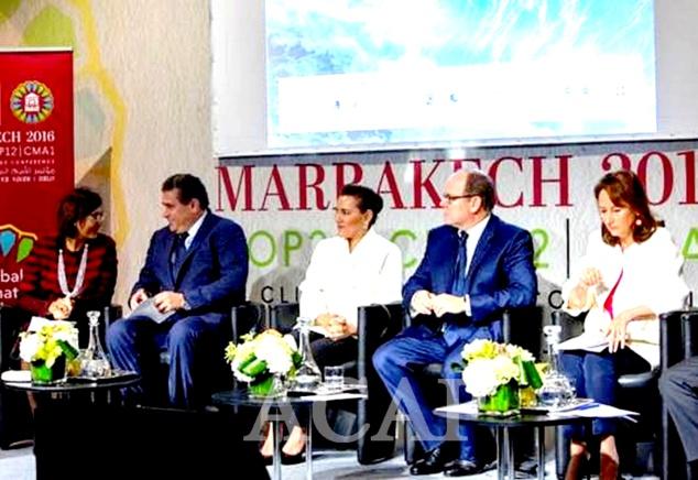 La Princesse Lalla Hasnaa annonce l'engagement de la Fondation Mohamed VI en faveur des océans