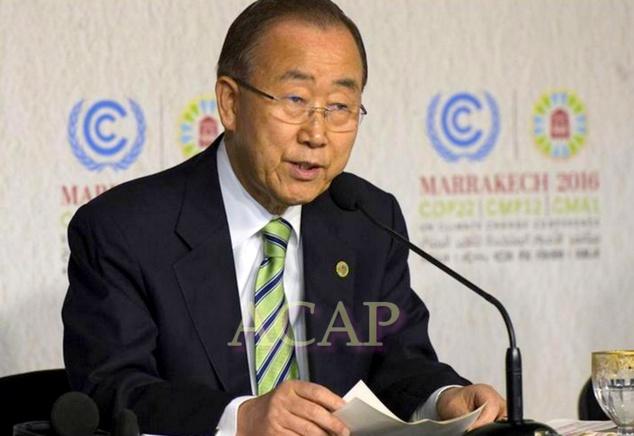 Bank-Ki-Moon appelle les leaders mondiaux à renforcer la réduction des émissions de gaz à effet de serre