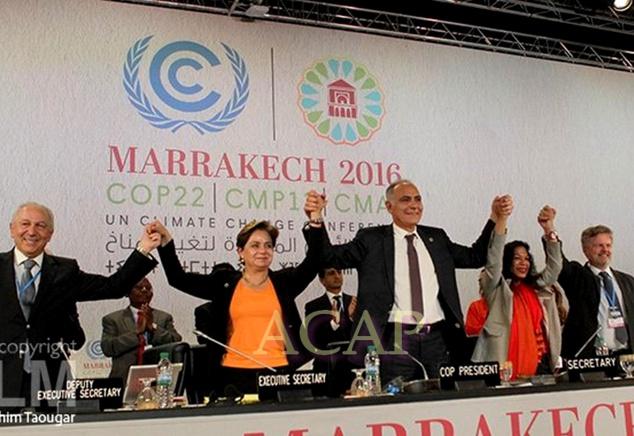 En marge de la COP22, les chefs d'Etat et de gouvernement souscrivent à la Proclamation de Marrakech
