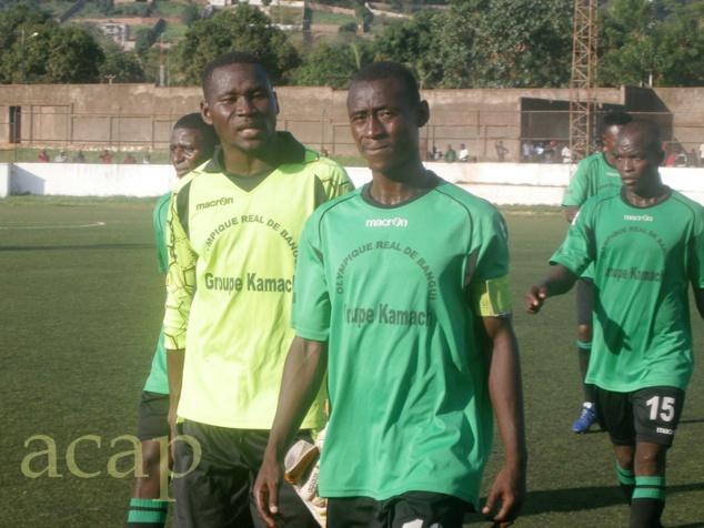 Les joueurs du Réal de Bangui