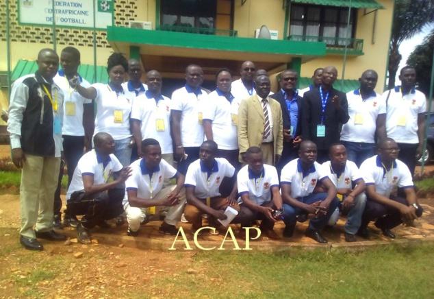 Les journalistes sportifs en formation (F. Biongo/ACAP)