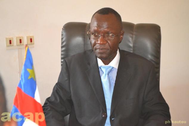 Le ministre de l'Agriculture et du Développement rural, Honoré Féïzouré