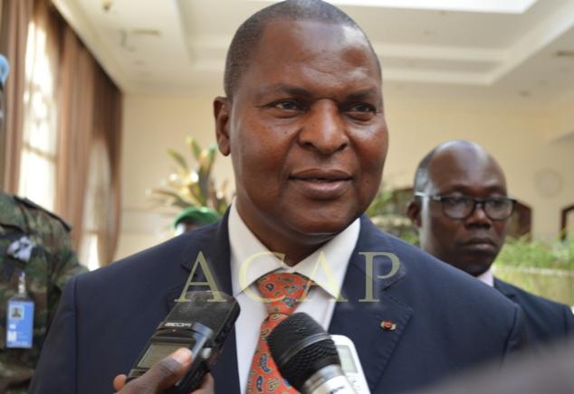 Le Président Faustin Archange Touadéra invite la population à soutenir l'opération des forces de sécurité au Kilomètre 5