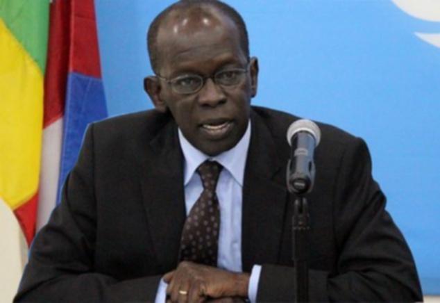 Le Directeur régional du PAM pour l'Afrique de l'ouest et du centre, Abdou Dieng