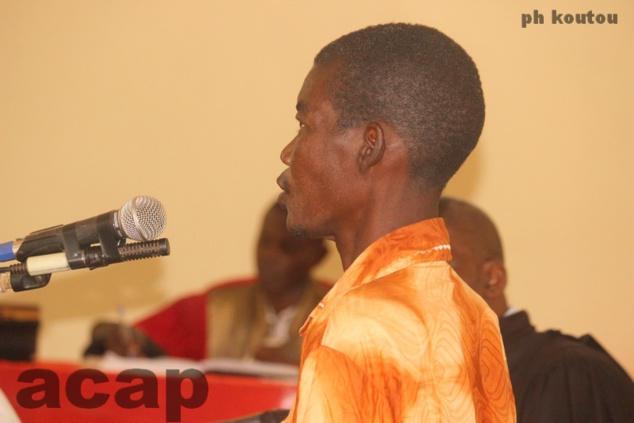 Guy-Vincent Boymana devant la barre de la Cour criminelle de Bangui