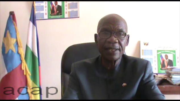 Le ministre des Arts, de la Culture et du Tourisme, Jacob Mokpem Bionli