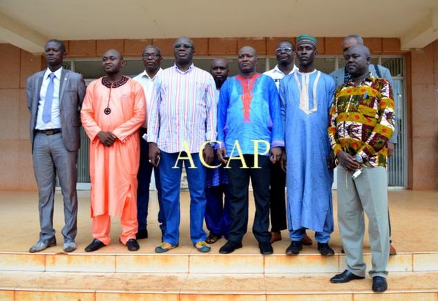 L'équipe de sensibilisation du 2ème Arrondissement de Bangui