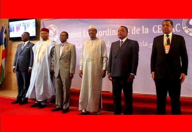 Photo officielle des Chefs d'Etat ou leurs représentants
