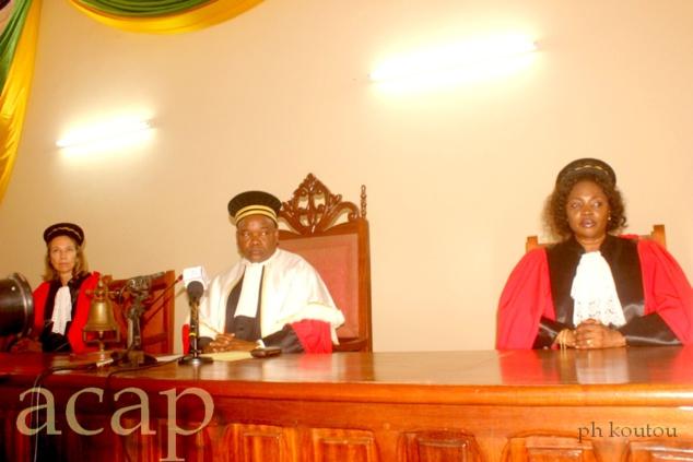 Les juges de la CPS lors de leur session inaugurale, le 22 octobre 2018 à Bangui