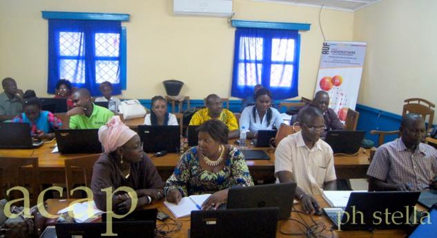 Une vue des doctorants en formation sur la publication d'article de recherche