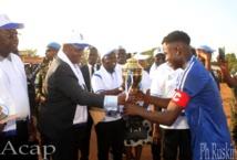 La sélection de football du 5ème arrondissement remporte la Coupe de l'an 3 du Président Faustin-Archange Touadéra