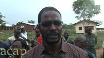 Le Haut-Commissaire  Armel Ningatoloum-Sayo visite trois centres de formation de la Jeunesse Pionnière Nationale