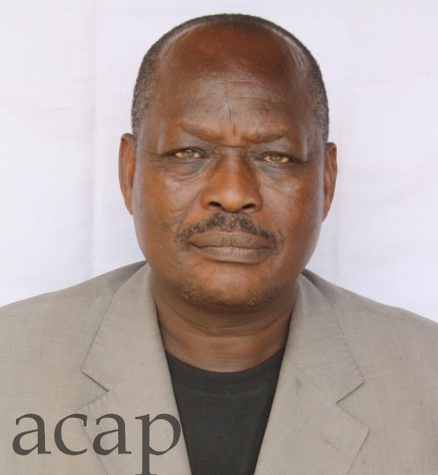 L'ancien directeur général de Télé Centrafrique, Barthélemy Feïdoka Kpemsèrè