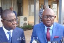 Les ministres de l'Economie et des Finances regagnent Bangui après une visite de travail à Washington