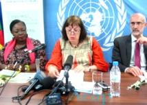 La Représentante spéciale Virginia Gamba  lance la campagne de sensibilisation « Agir pour protéger les enfants » à Bangui