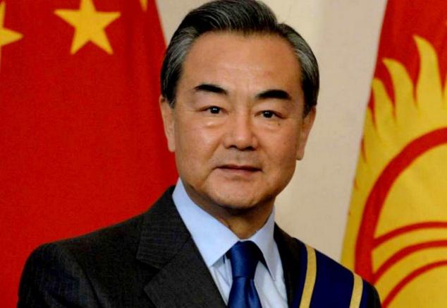 M. Wang Yi, conseiller d'État et ministre des Affaires étrangères de la Chine