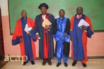 Le Président général du jury à gauche de la photo.