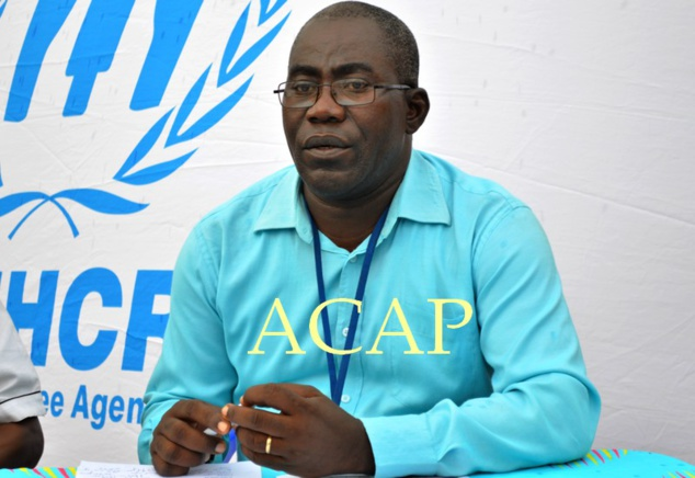 M. Roger-Pierre Panzé, chef de bureau local du HCR à Obo