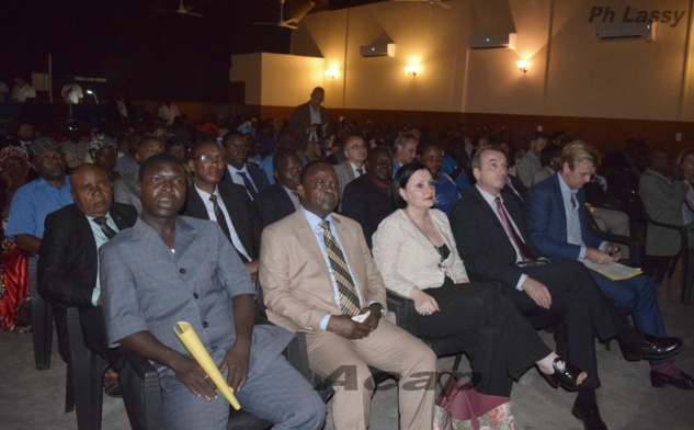 Une vue des participants à la journée de la justice internationale