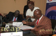 Signature à Bangui d'une convention en faveur de l'apprentissage des jeunes déscolarisés