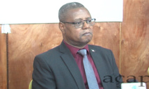 M. Pierre Somsé, ministre centrafricain de la santé et de la population