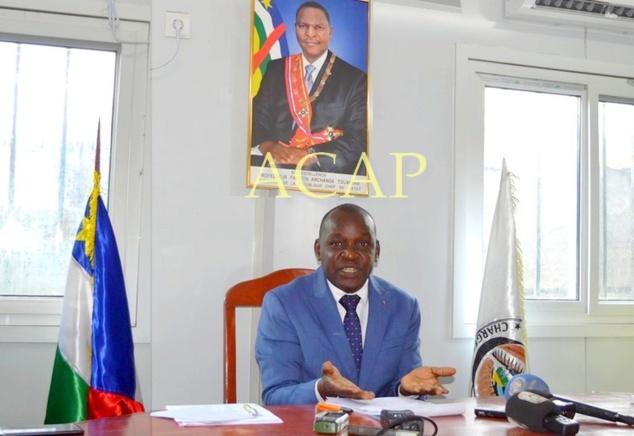 Le président de la HABG, M. Guy-Eugène Demba