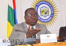 Le colonel Kouagou, ministre conseiller à la présidence, chargé de la Réforme du secteur de sécurité
