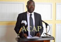 Le ministre délégué Albert Yaloké-Mokpème