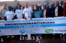 Photo de famille des acteurs humanitaires