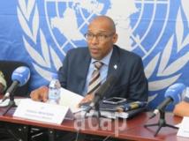 Le porte-parole de la MINUSCA, Vladimir Monteiro (archives ACAP)