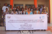 Les participants à l'atelier de validation du rapport national sur la mise en oeuvre de la convention de kinshasa
