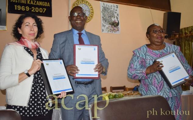 Signature à Bangui du document du projet d'appui  au processus Electoral en Centrafrique