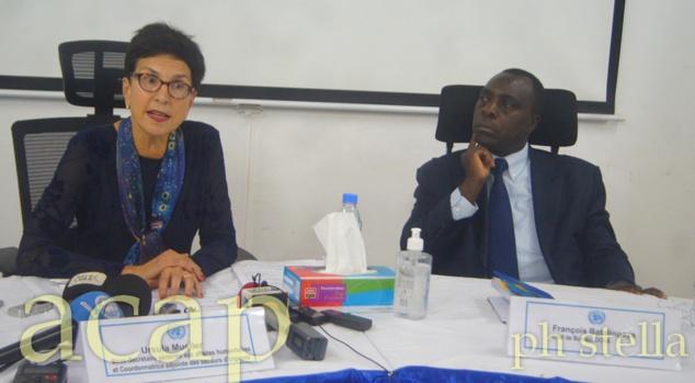 Ursula Mueller dresse le bilan de sa visite en République Centrafricaine