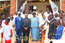 Monseigneur Désiré-Nestor Nongo-Aziagbia préside la messe de la rentrée pastorale diocésaine 2019-2020