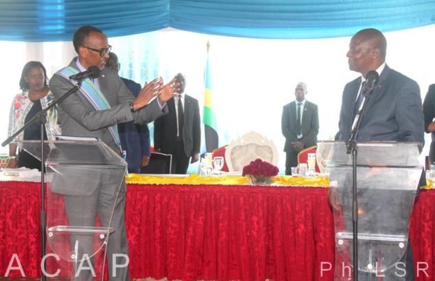 La visite du Président Kagamé à Bangui a été sanctionnée par la signature des accords bilatéraux
