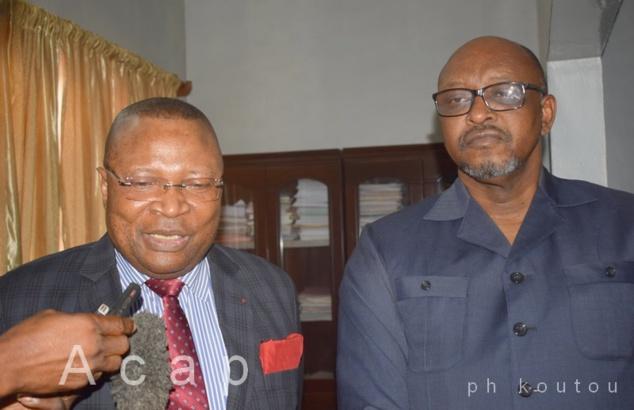Le ministre Ange-Maxime Kazagui réceptionne le projet d'Accord de coopération entre l'Agence congolaise d'Information et l'Agence centrafricaine de Presse