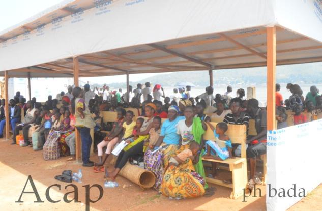 La ministre Virginie Baïkoua accueille près de 400 réfugiés centrafricains en provenance de la RDC