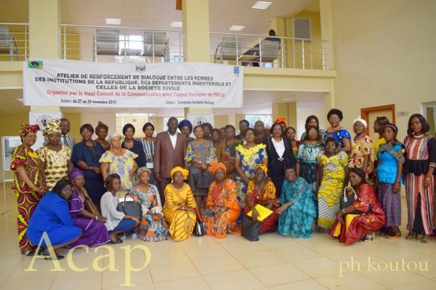 Le HCC organise des échanges entre les femmes des institutions et autres