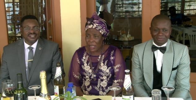 Ministre Eugénie Ngbondo avec ses collègues