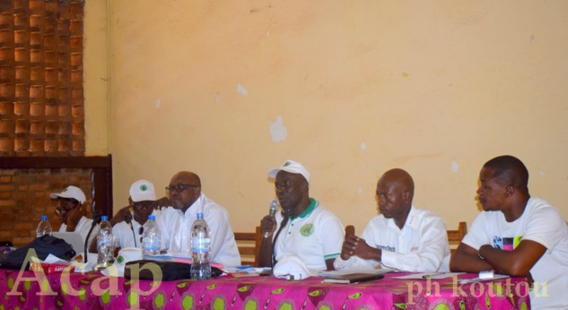 Fin à Bangui des travaux du 2ème congrès ordinaire de l'Alliance pour le Nouveau Centrafrique