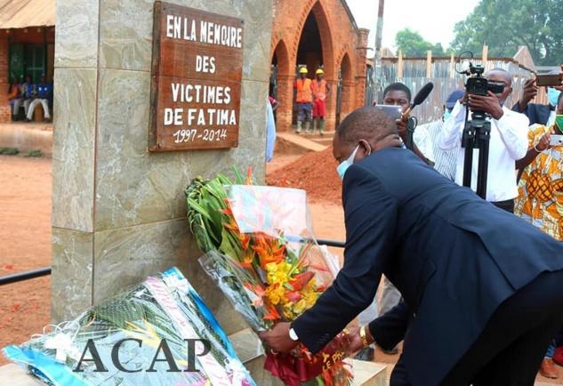 Célébration de la 5ème Journée des victimes des crises militaro-politiques en Centrafrique