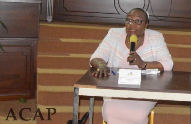 La Présidente de l'Autorité nationale des élections réceptionne les matériels électoraux