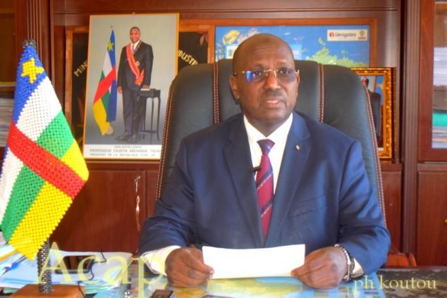 Le ministre du Commerce Mahamat Yacoub Taïb Taïb