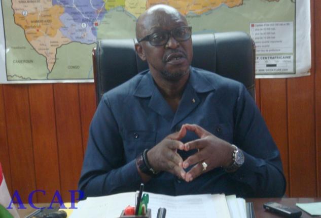 Le ministre de la Communication et des Média Ange-Maxime Kazagui