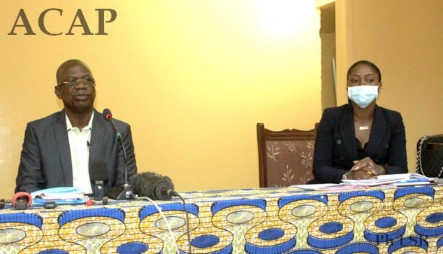 Les cadres de l'Autorité nationale des élection