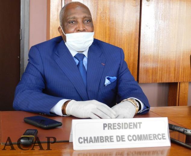 Président de la CCIMA Robert Ngoki