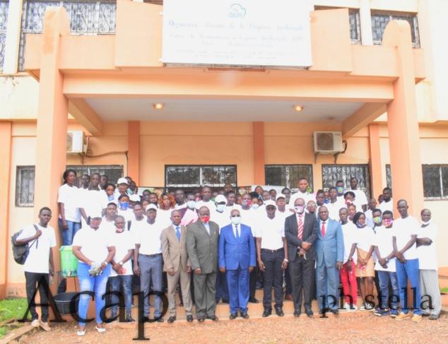 Les participants à la journée porte ouverte  sur l'OAPI