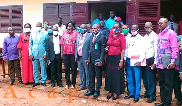 Des leaders des organisations des travailleurs sensibilisés sur l'impact de la COVID-19