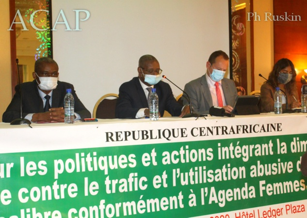 Ouverture à Bangui de l'atelier de formation sur l'intégration du genre contre le trafic des armes