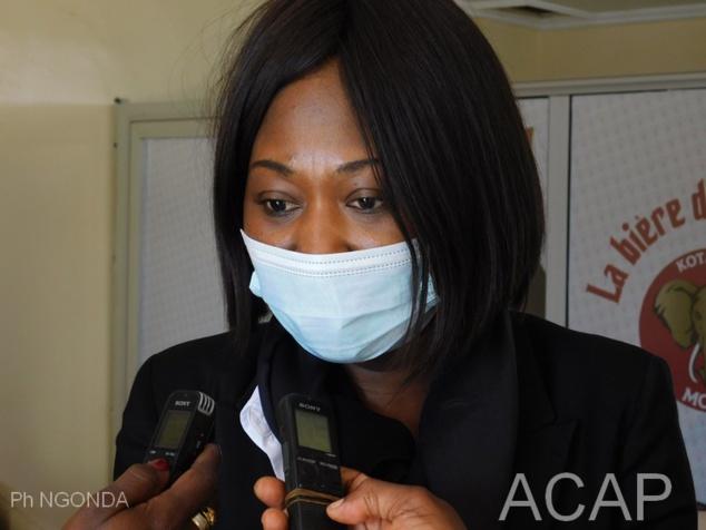 La ministre Sylvie Baïpo-Temon regagne Bangui après une visite de travail à Libreville au Gabon